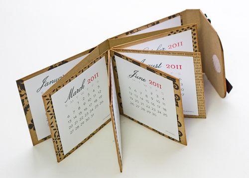 mini mini calendario.... gosto!