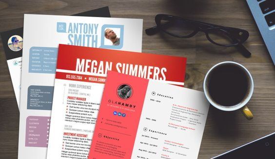 15 Free Creative Resume Templates for Photoshop and Illustrator - photoshop resume templates