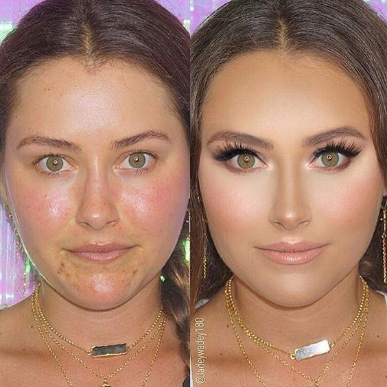 #BEFOREANDAFTER Love this glam on my beautiful doll  _ #TooFaced Hangover primer…