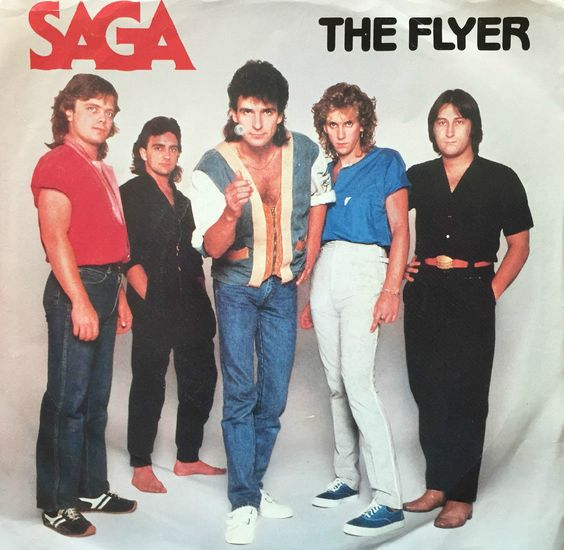 Saga 45 RPM Cover https://www.facebook.com/FromTheWaybackMachine/