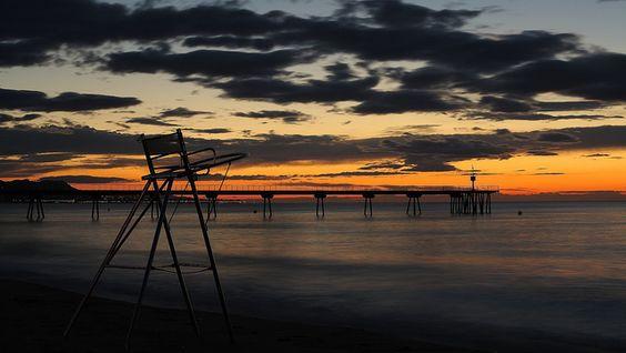 La silla de la playa..., via Flickr.