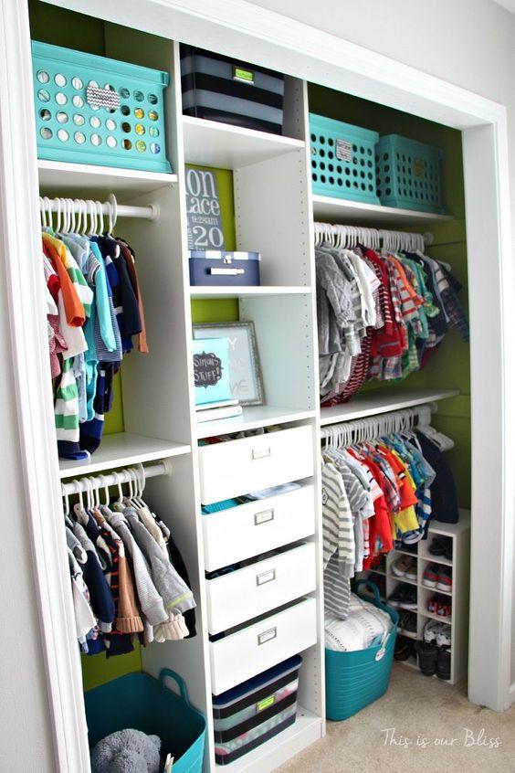 DIY+Baby+Boy+Nursery+Closet