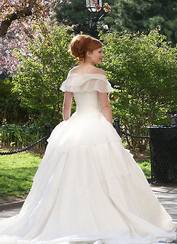 mary jane's wedding dress spiderman 2