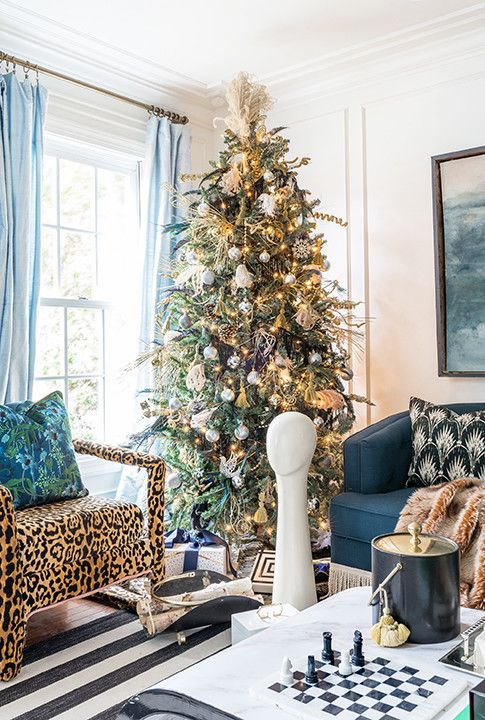 These Holiday Trees Are So Unique In 2021 Christmas Decorations Living Room Christmas Living Rooms Traditional Holiday Decor Living room christmas decorations 2021