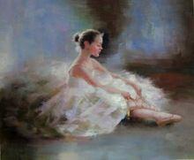 Pintura HD de impressão em lona um bailarina arte imagem para sala de estar decoração sem moldura com navio melhores(China (Mainland))