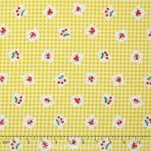 Apple Farm - Apple Picnic Yellow Yardage