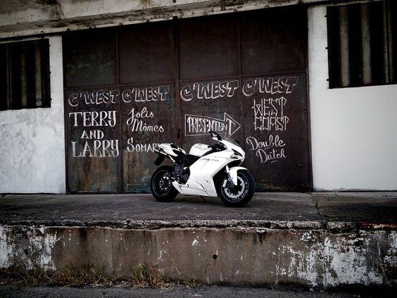 Ducati 1198 - Trip 2013 France
