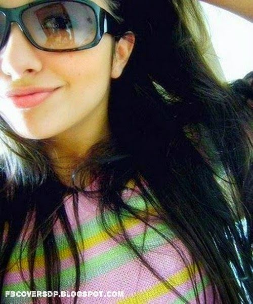 Cool attitude girl facebook dp fb dp for cute girls cute girl smiling dp for fb fb profile - Simple girls photo for facebook ...