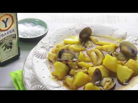 Guiso marinero de patatas con choco - YouTube RECIPE