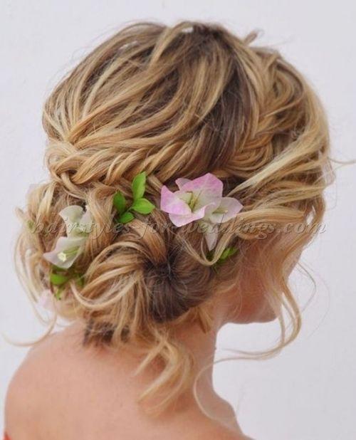Beach Wedding Updo With Images Beach Wedding Hair Wedding