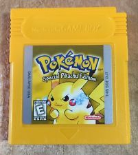 Pokemon Yellow Version For Nintendo Game Boy! Special Pikachu Edition Saves!  get it http://ift.tt/2cA2EeB pokemon pokemon go ash pikachu squirtle