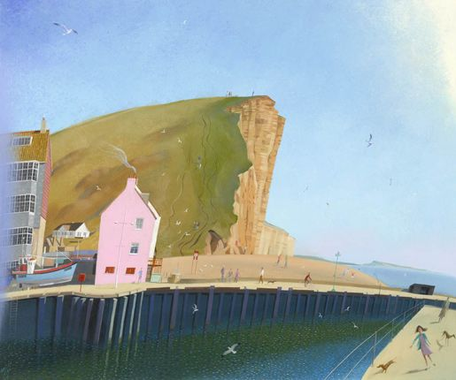 West Bay Nicholas Hely Hutchinson Dorset in art page 4
