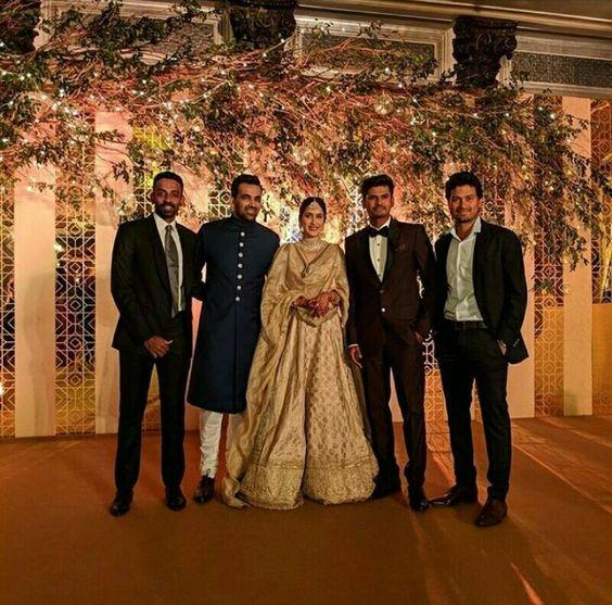 Zaheer and Sagarika's Marriage