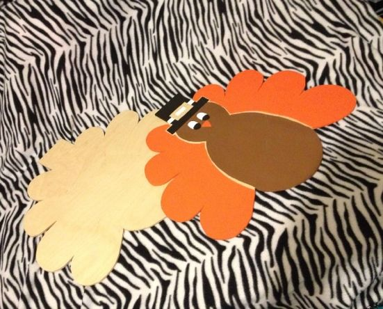 Turkey Door Hangers still in the process of getting finished