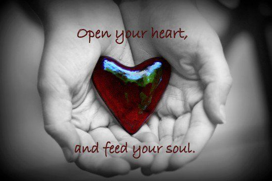 connection of heart and soul...