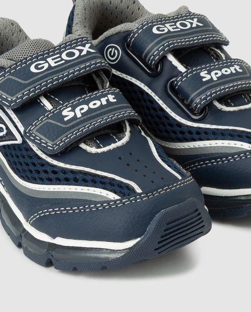 barro Interprete Aceptado  Geox - Zapatillas deportivas de niño Geox de color azul con doble  velcro | Zapatillas deportivas, Zapatos para niñas, Zapatillas