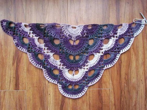 Crochet Virus Shawl Pattern : ... yarn by kismet more stripes yarn crochet virus shawl crochet scarfs