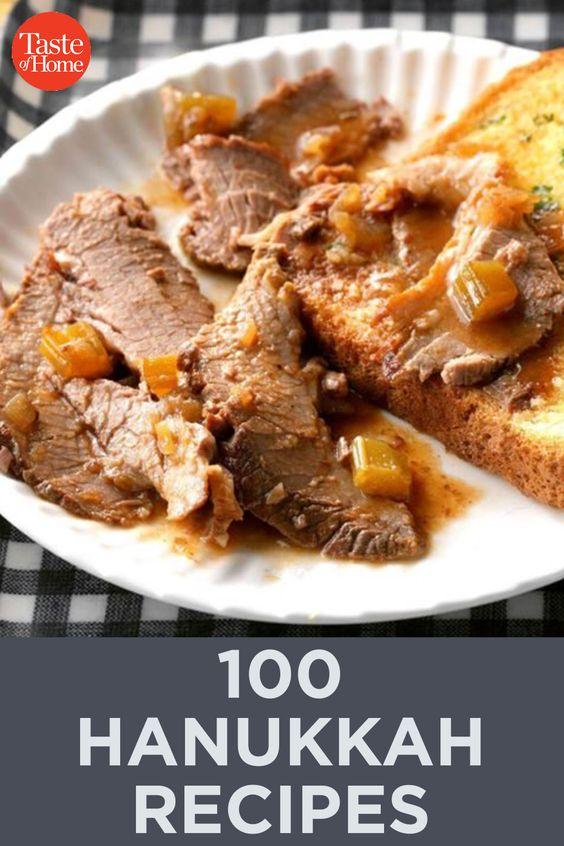 100 Hanukkah Recipes