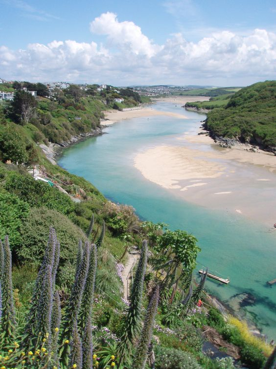 Crantock Bay, Cornwall, UK