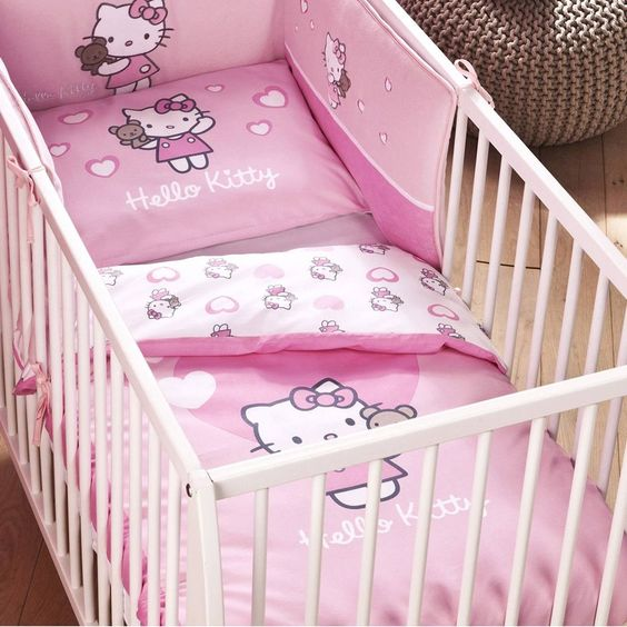 parure de lit bb hello kitty httpwwwbebegavrochecom - Decoration Hello Kitty Chambre
