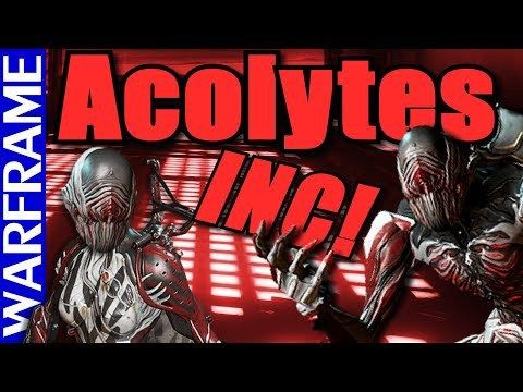 Acolytes Are A Comin Prepare Tenno Warframe Heads Up Freetoplaymmorpgs Heads Up Headed Preparation