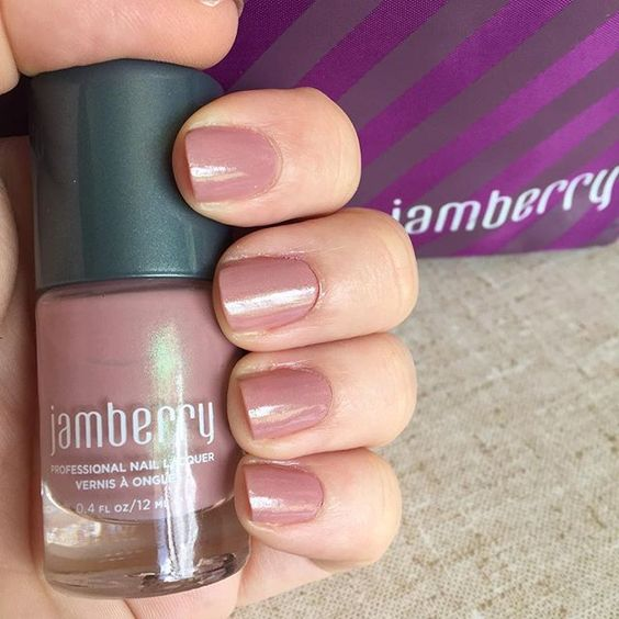 Suede Nail Polish: Pretty Neutral Polish! Suede Lacquer By Jamberry
