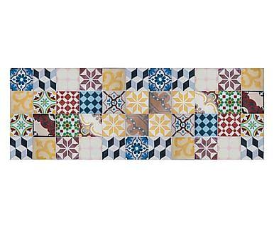 Passatoia cucina in vinile Mosaico Vintage