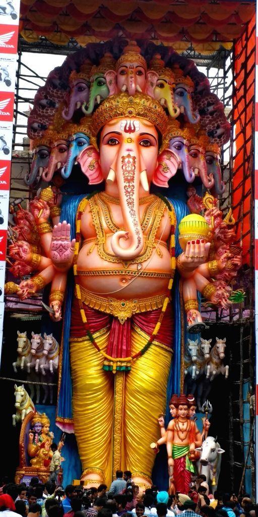 Khairatabad Ganesh 2019 Ganesh Photo Happy Ganesh Chaturthi Images Lord Shiva Hd Images