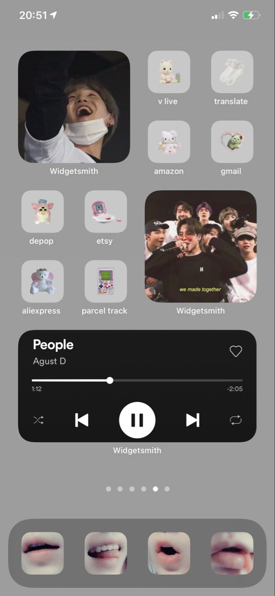 Bts Ios14 Wallpaper Aesthetic Iphone In 2021 Phone Inspiration Iphone Home Screen Layout Homescreen Iphone Aesthetic iphone home screen bts