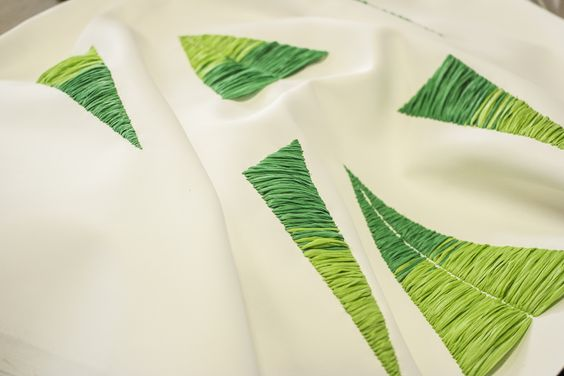 #texture #green #leaves #details fashion