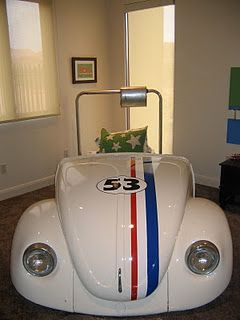 VW Bug Bed Very Cool Love Herbiebeep Beep