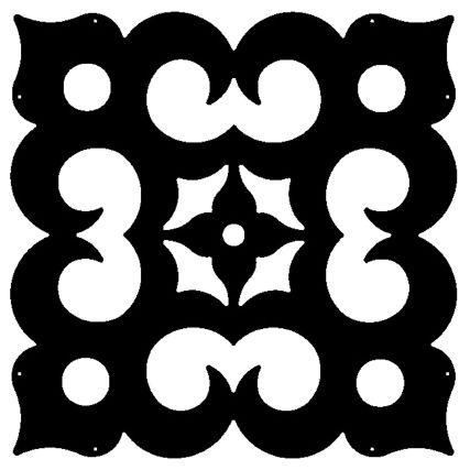 Linea Casbah decorative panel
