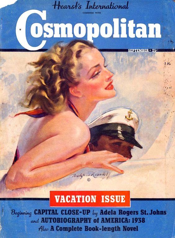 Cosmopolitan magazine , September issue, 1939