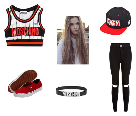 """""""Moschino"""" by eliso2006 ❤ liked on Polyvore"""