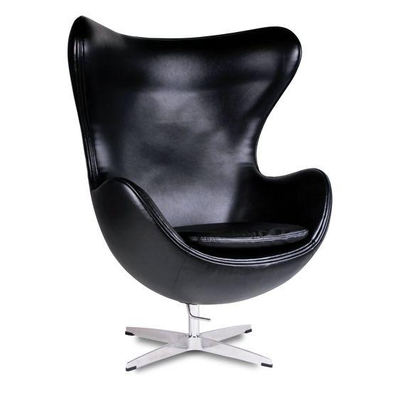 silla egg pu version sillas icono del diseo egg sillas de