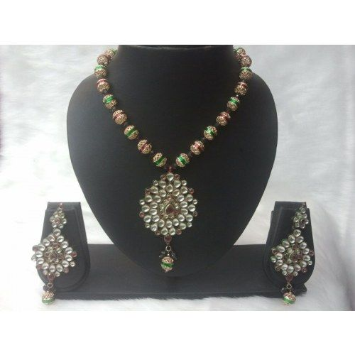 Kundan Set - Online Shopping for Pendants by Saachi