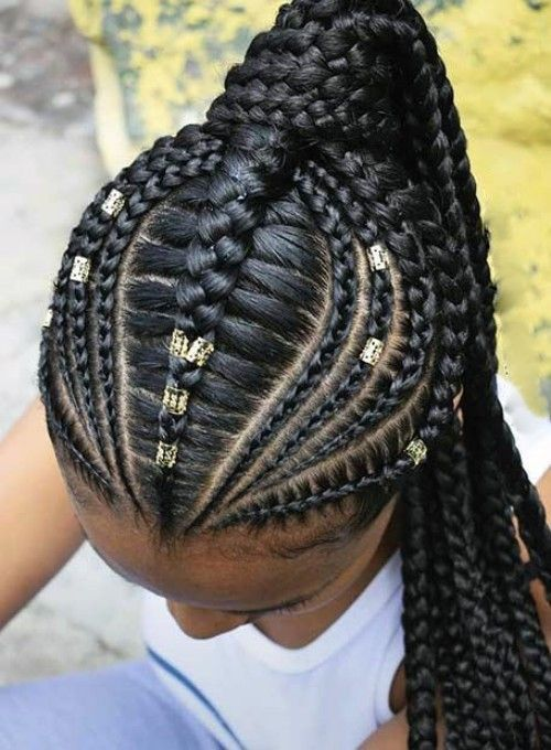The Coolest And Cutest Cornrows To Wear In 2020 Curly Craze Braided Ponytail Hairstyles Cornrow Hairstyles Hair Styles