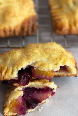 Featured Recipe // Blueberry Peach Hand Pies from Mother Would Know…