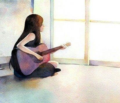 Pegue o violão, crie uma canção pois irà sair uma melodia que encantará os corações