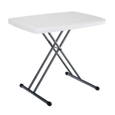Lifetime 30 in. x 20 in. Personal Folding Table in White-28241 - The Home Depot
