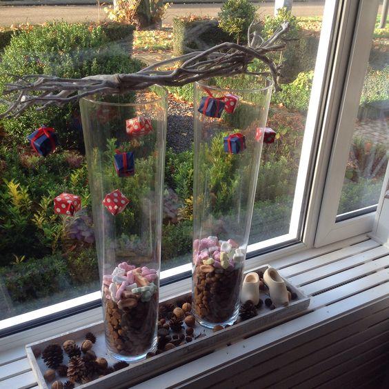 Sint decoratie voor het raam decoratie sinterklaas for Decoratie raam