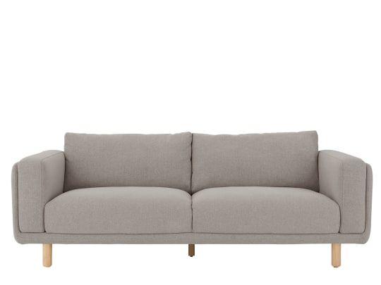 Karson 3 Sitzer Sofa Grau Sofa 3 Seater Sofa Seater Sofa