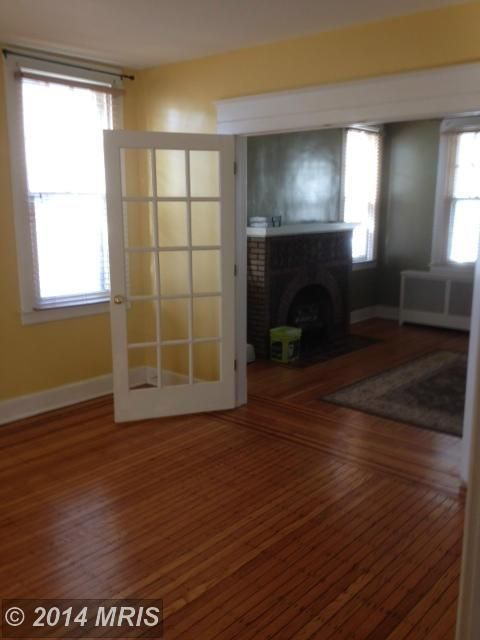 BEFORE: dining room with a view of the family room