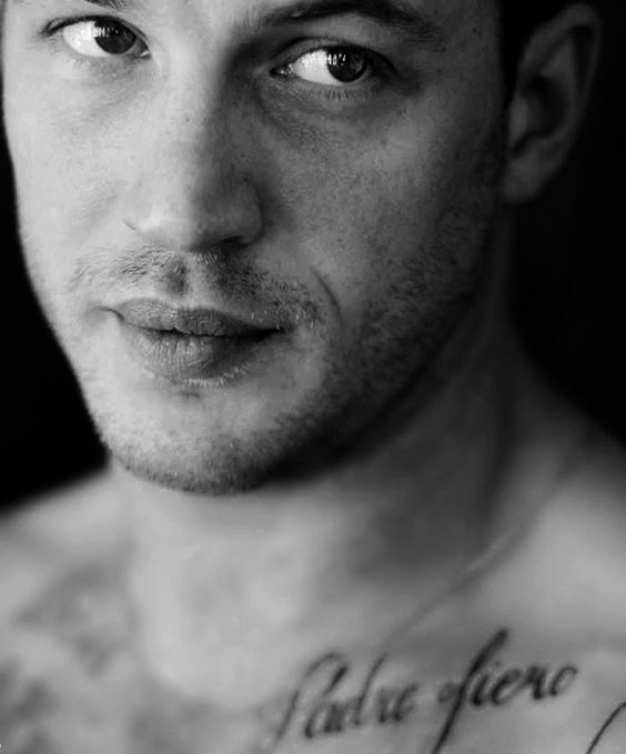 Tom Hardy, I don't care if you played Bane, you were still better looking than batman.