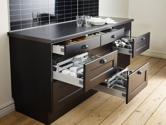 Kitchen Drawer Design Ideas - Get Inspired By Photos Of Kitchen
