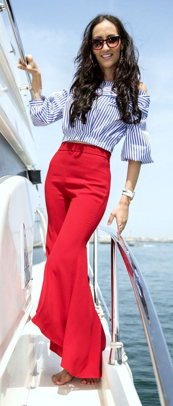 Dragana Radosavljevic, Yacht Outfit