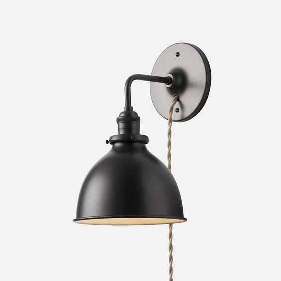 Crafted Of Iron With An Aged Zinc Finish Our Exclusive Sconce Lamp Illuminates Small Areas Without Using Floor Space Featuring A Pivoting Head T