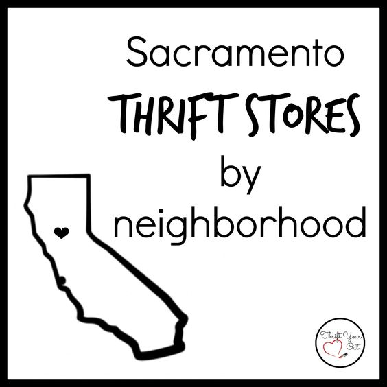 Sacramento Thrift Stores by Neighborhood: ROSEVILLE
