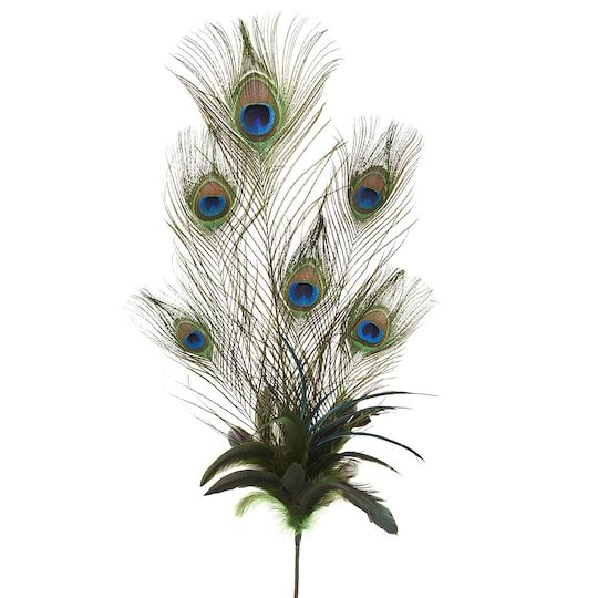Ashland Feather Pick Peacock Feather Arrangements Peacock Feather Decor Feather Decor