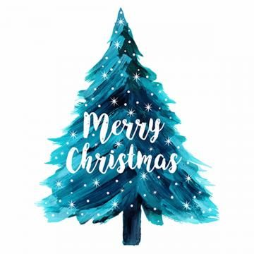 Watercolor Color Colors Colored Colorful Multicolor Multicolored Abstract Christm Watercolor Christmas Tree Christmas Watercolor Merry Christmas Wishes